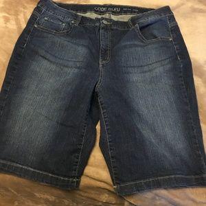 Code Bleu Shorts Denim Size 18W